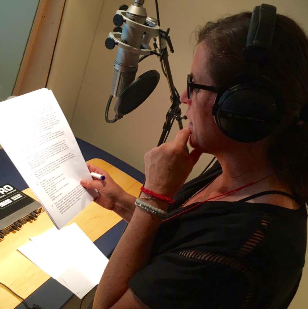 Voice over training Nathalie Samson