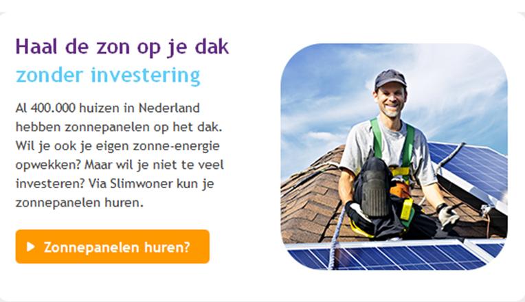 SNS zonnepanelen actie