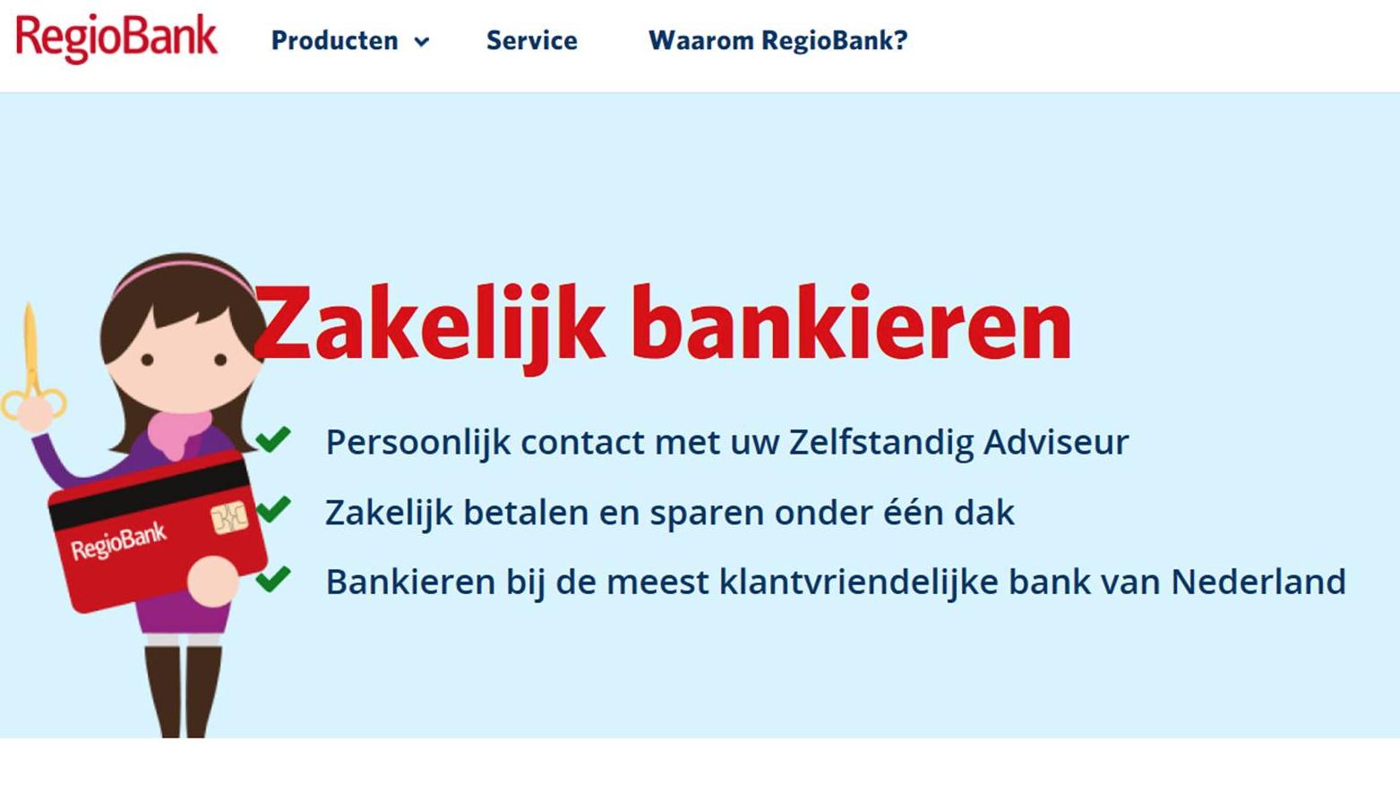 RegioBank Zakelijk bankieren - Nathalie Samson